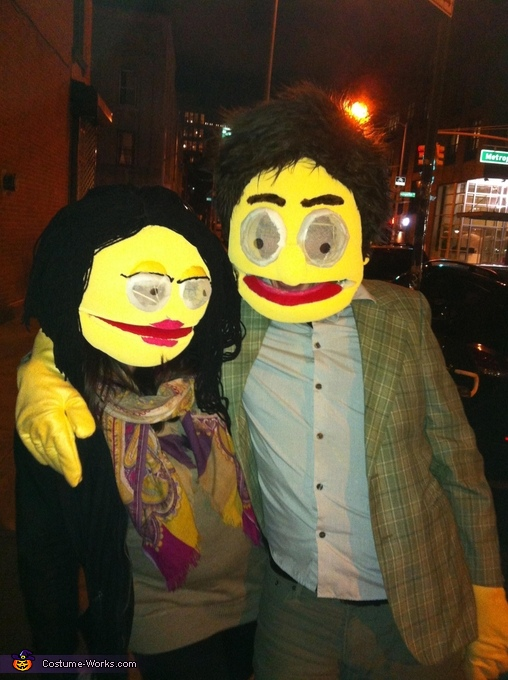 Muppet Couple Homemade Costume