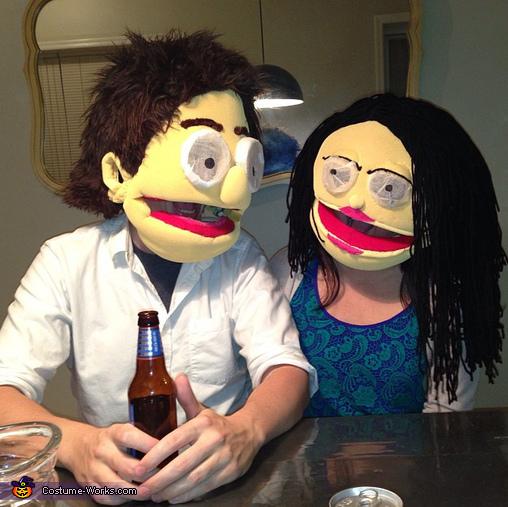 Muppet Couple Homemade Costume