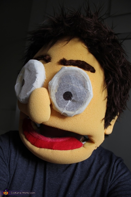 close up, Muppet Couple Costume
