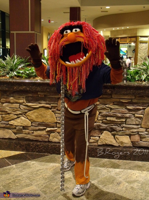 Muppets Animal - Homemade costumes for adults