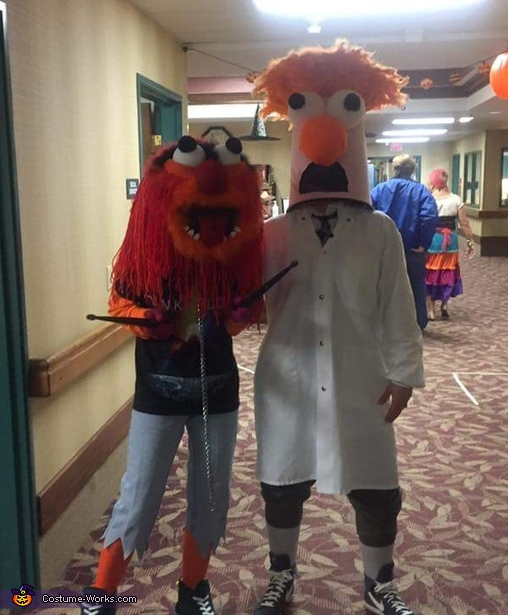 Animal and Beaker Costume