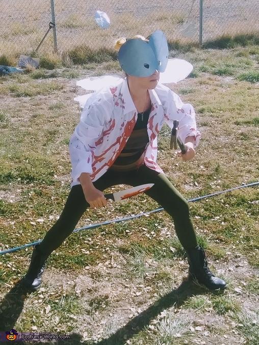Murder Hornet Homemade Costume