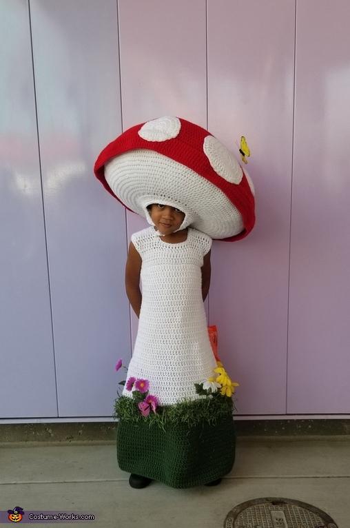Mushroom Child Halloween Costume