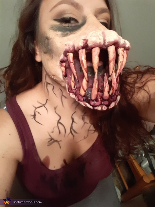 Mutant Girl Homemade Costume