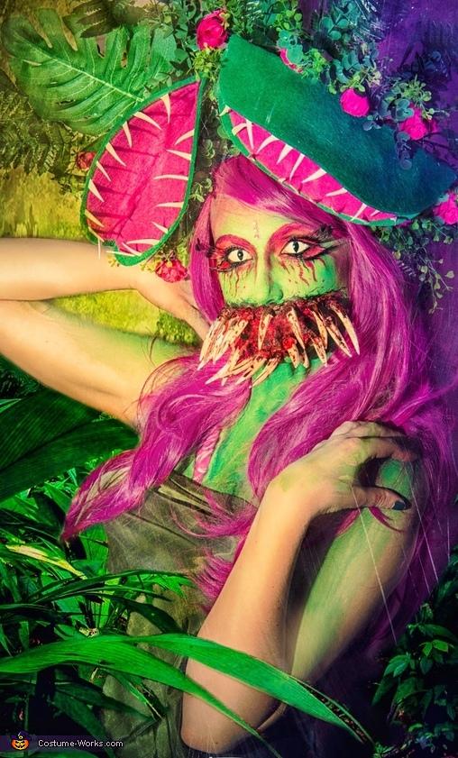Mutant Venus Flytrap Homemade Costume