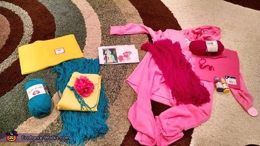 My Little Pony Princess Skystar and Pinkie Pie Homemade Costume