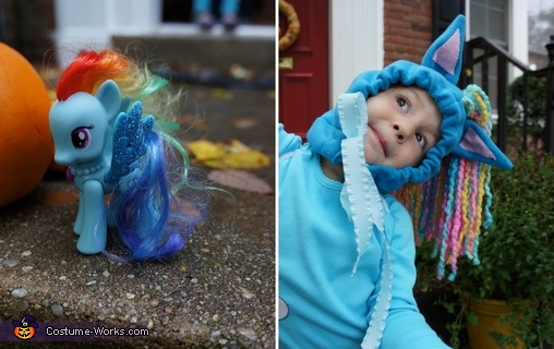 The Inspiration, My Little Pony Rainbow Dash Costume