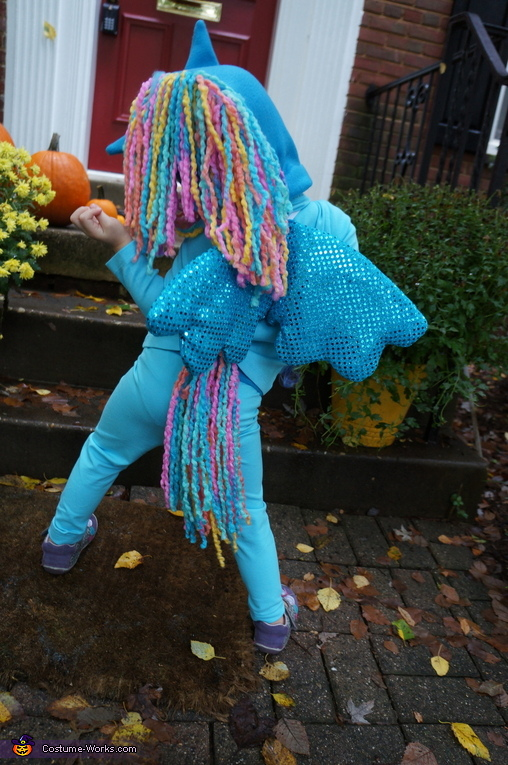 My Little Pony Rainbow Dash Costume For Girls Photo 3 4