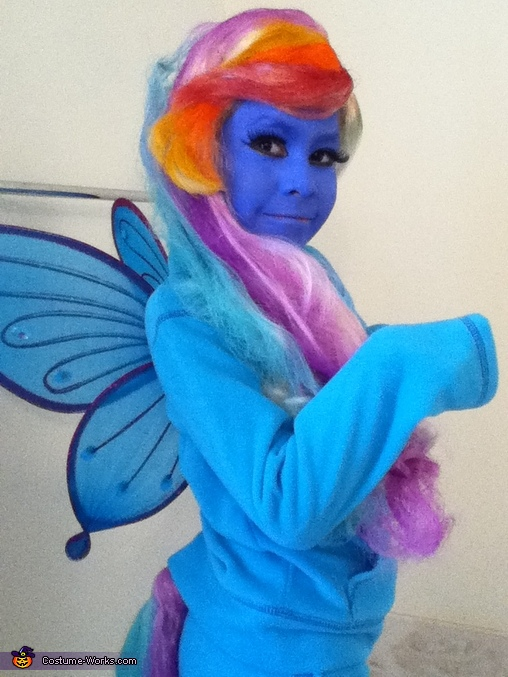 Rainbow Dash, My Little Pony Rainbow Dash Costume