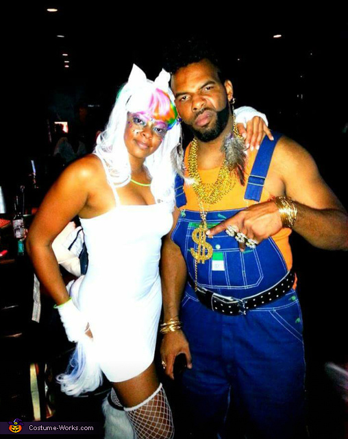 Even mr. T wanted a picture , Mystical Unicorn Costume