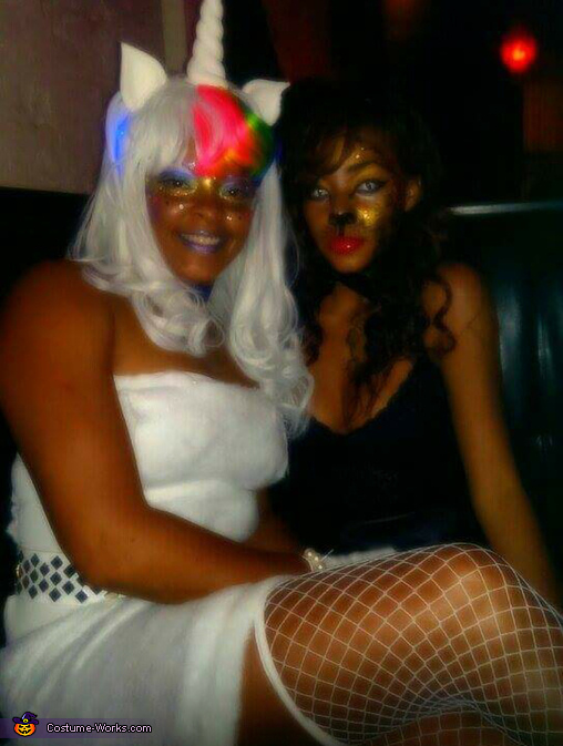 Me n my daughter, Mystical Unicorn Costume