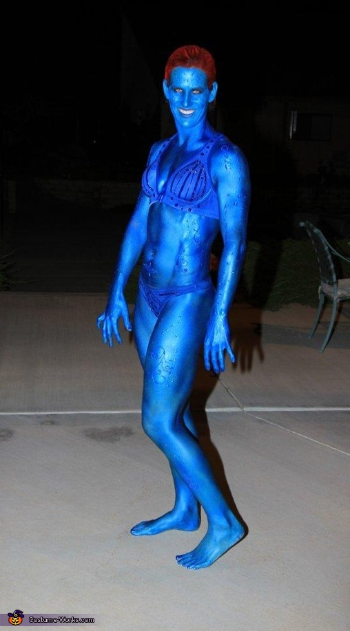 Mystique - Homemade costumes for women