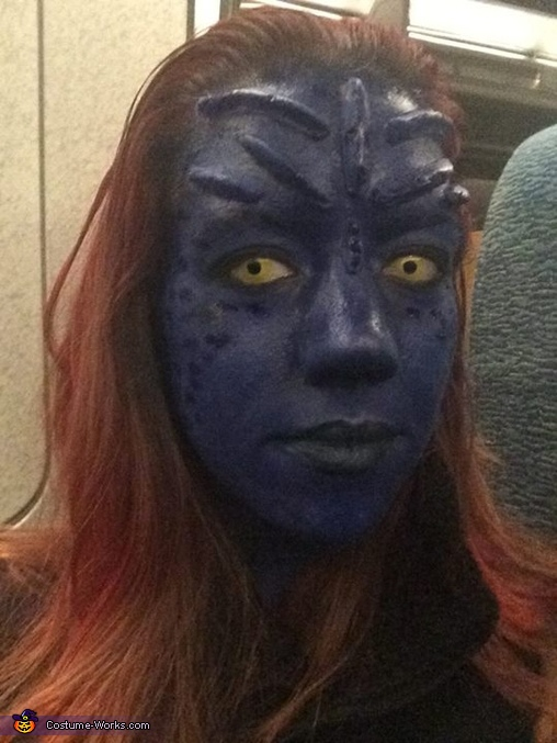 Mystique Costume DIY