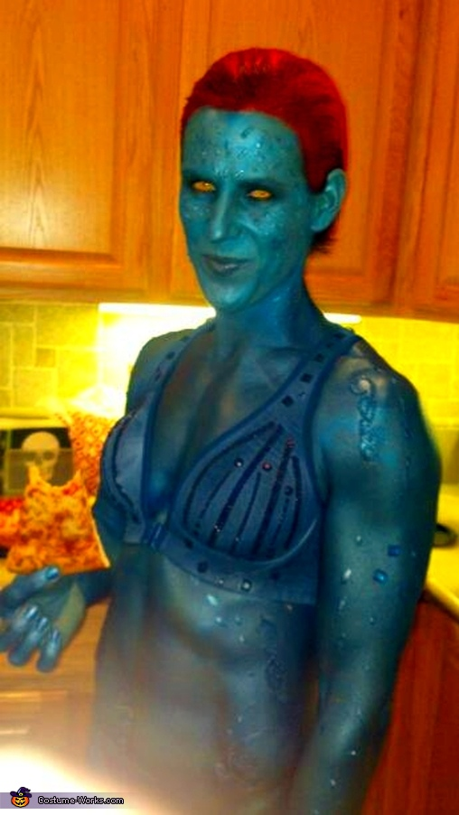 Yellow Eyes!!!, Mystique Costume