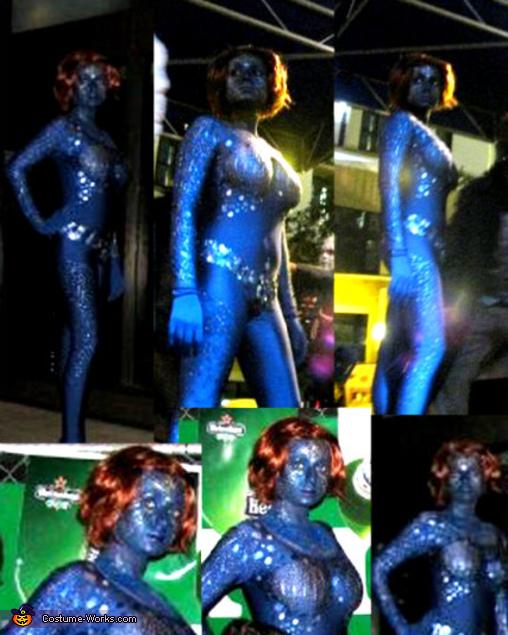 Mystique Character Costume