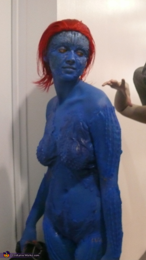 DIY Mystique Costume