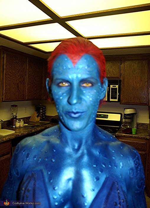 Mystique from X-Men Costume
