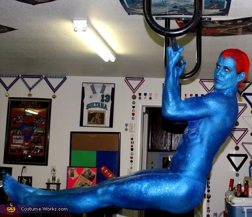 Mystique from X-Men Costume