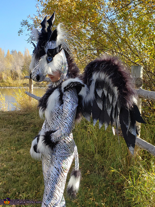 Mythical Lightning Creature Costume