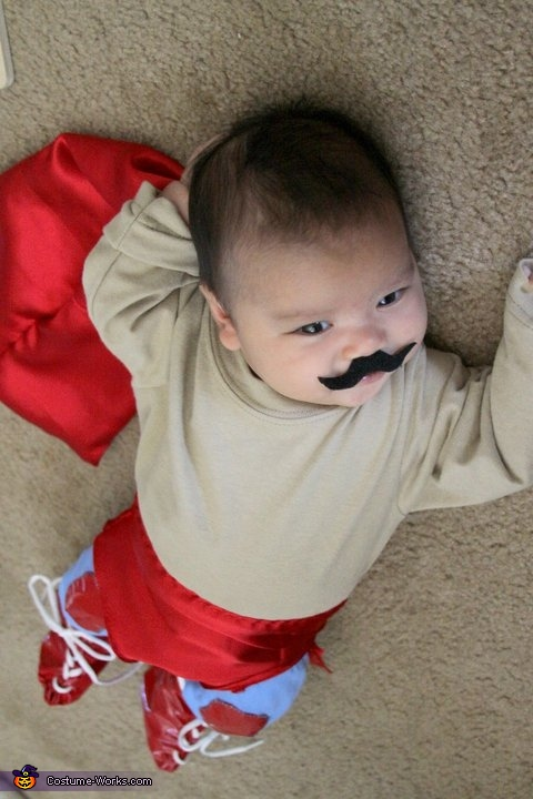 """Chancho. When you are a man, sometimes you wear stretchy pants in your room. It's for fun."", Nacho Libre Costume"