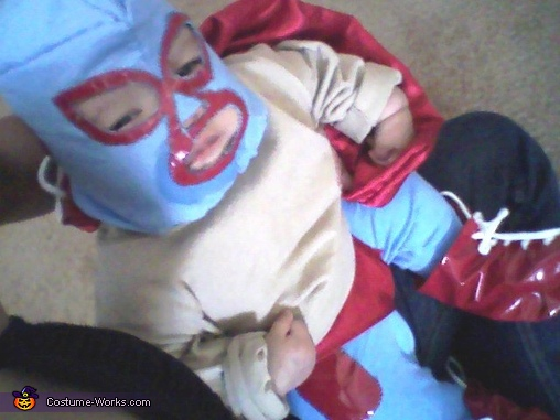 """Get that corn outta my face"", Nacho Libre Costume"
