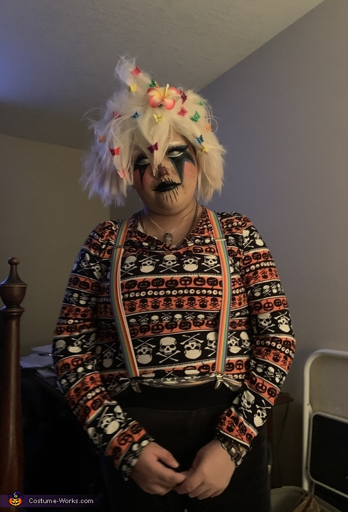 Nagito Komaeda Clown Cosplay Costume