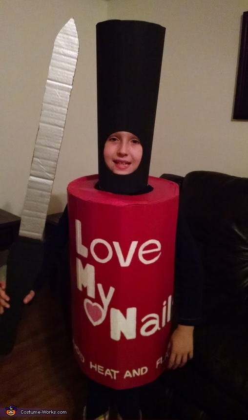 Nail Polish And File Costume