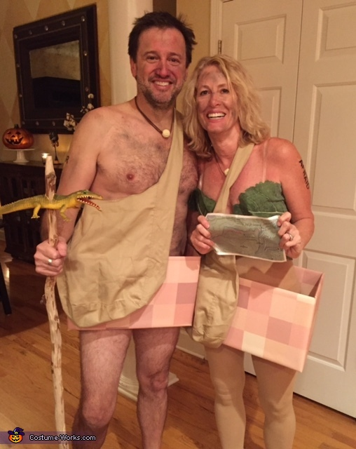 Naked and Afraid Costume