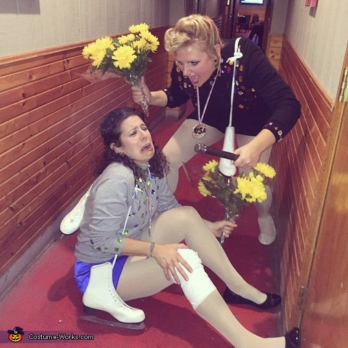 Nancy Kerrigan and Tonya Harding Costume
