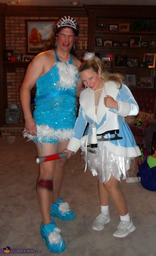 Nancy Kerrigan and Tonya Harding Couple Costume