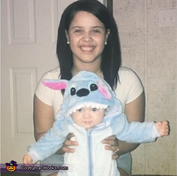 Nani and Stitch Homemade Costume