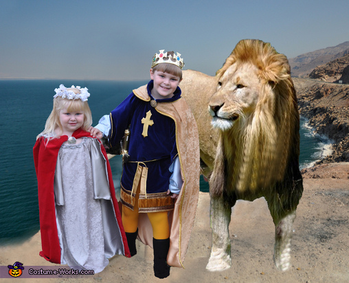 Narnia Coronation - Homemade costumes for kids