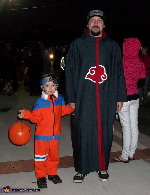 Naruto & Akatsuki Cosplay Halloween Costumes