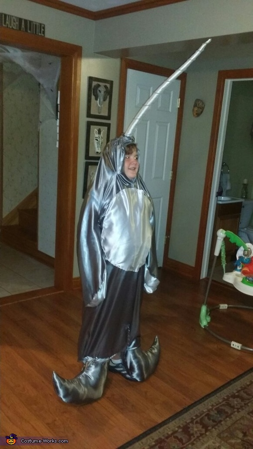 Narwhal Homemade Costume