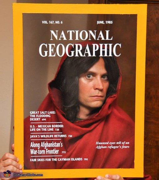 National Geographic Cover: Afghan Girl Costume