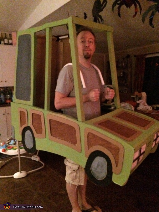 Taking it for a test drive before final construction, National Lampoon's Vacation Costume