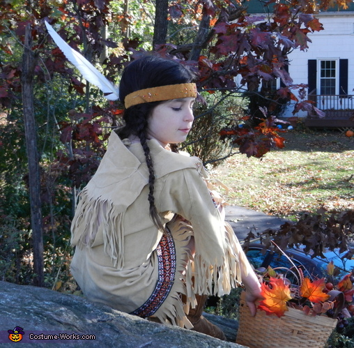 Native American Maiden at Rest, Native American Maiden Costume
