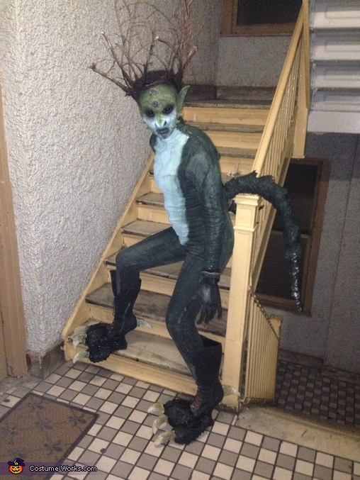 Natures Reptilian Homemade Costume