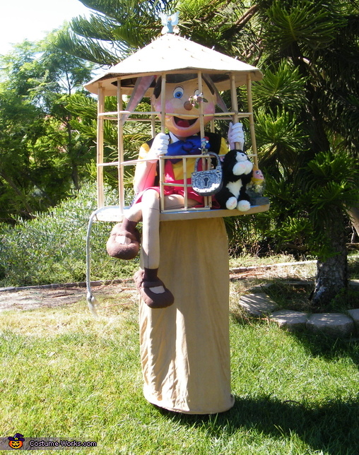 Naughty Pinocchio Costume