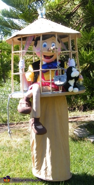 I'll Be a Real Boy, Some Day, Naughty Pinocchio Costume