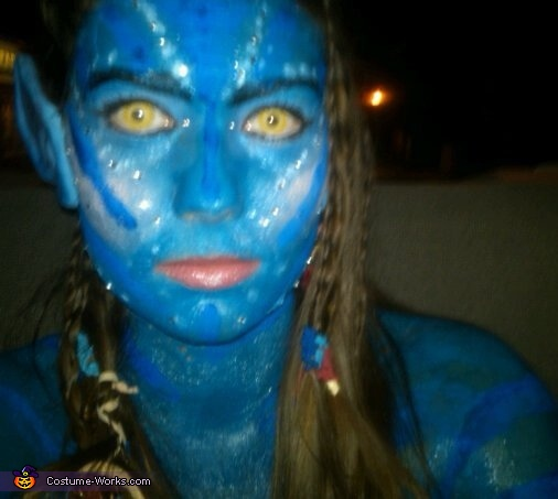 N'avi people take selfies too!, Na'vi Avatar Costume