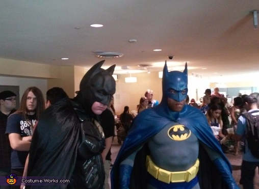 Myself and another fellow Bat, Neal Adams Batman Costume
