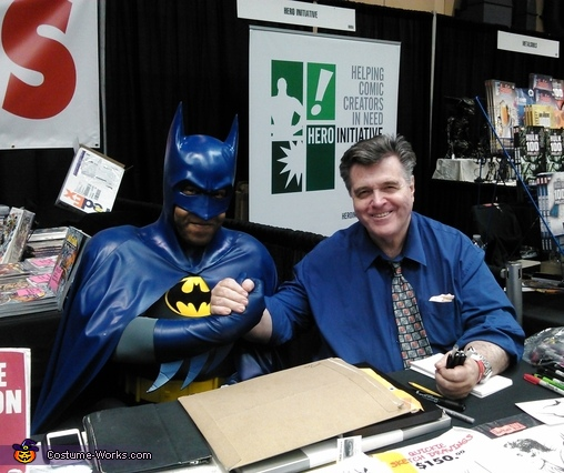 I even got to meet and take a pic with the man himself, Mr. Neal Adams. (He loved the suit by the way), Neal Adams Batman Costume