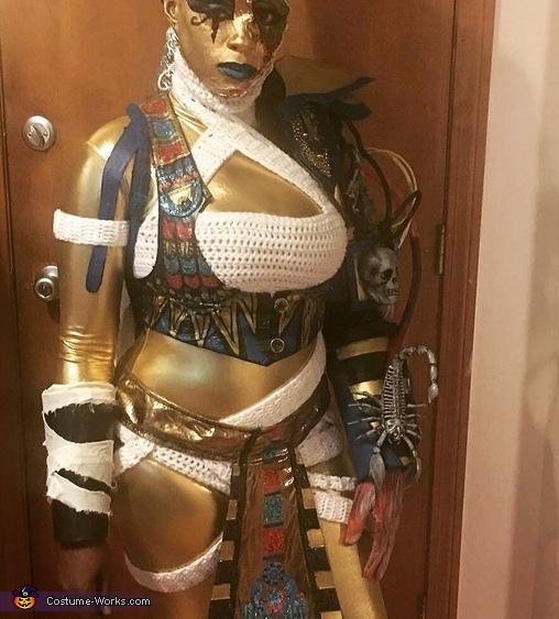Nefertiti's Monster Costume