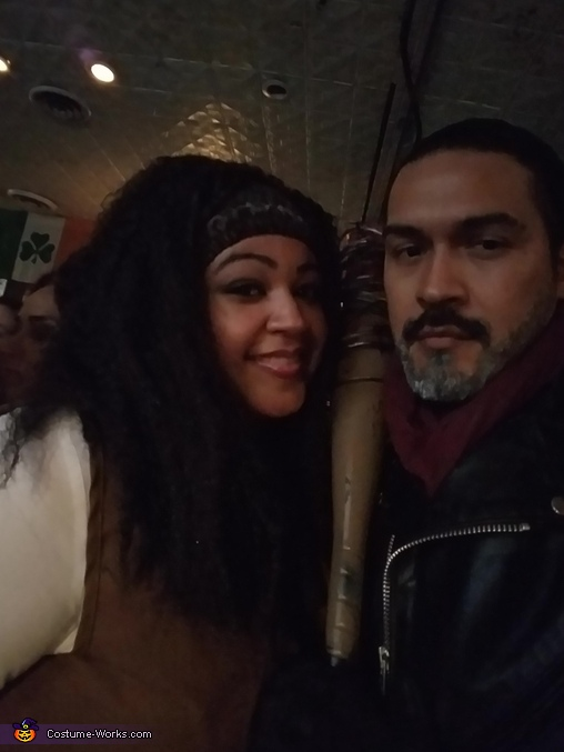 Negan & Michonne, Negan & Michonne Costume