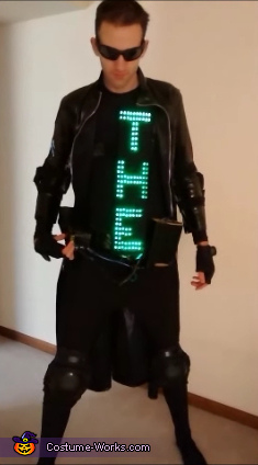 In case the GIF files don't work - The One pt 1, Neo from The Matrix Costume