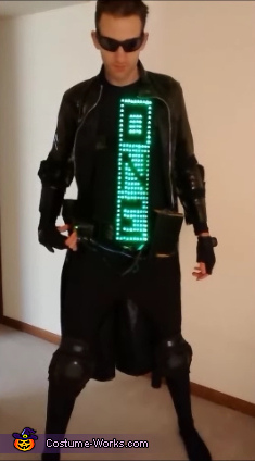 In case the GIF files don't work - The One pt 2, Neo from The Matrix Costume