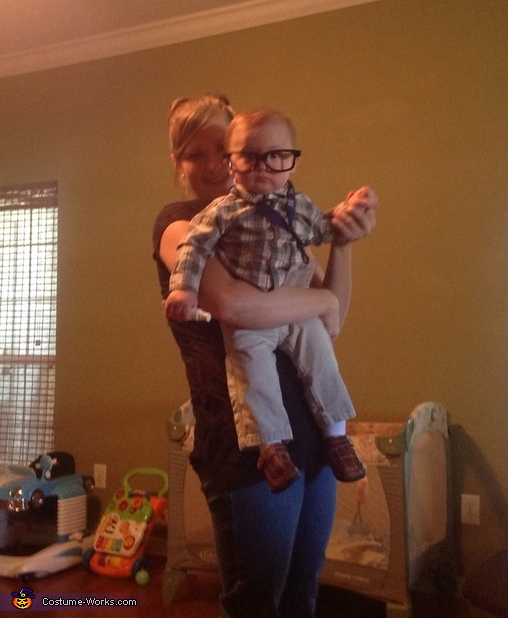 Mommy and me, Nerd Baby Costume