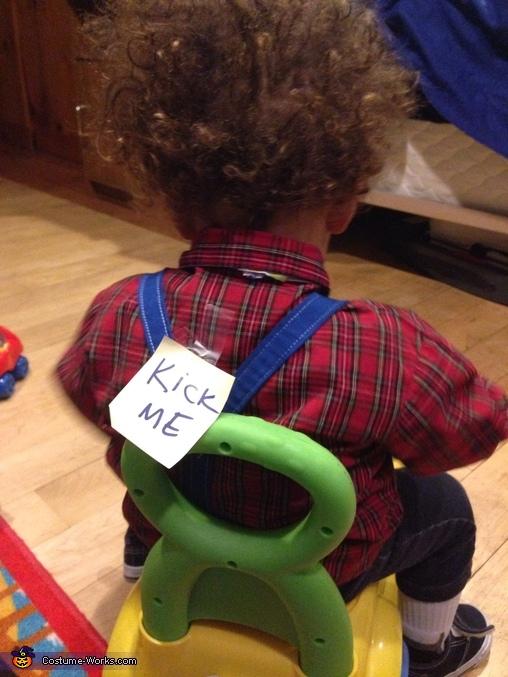 Kick me!, Nerd Baby Costume