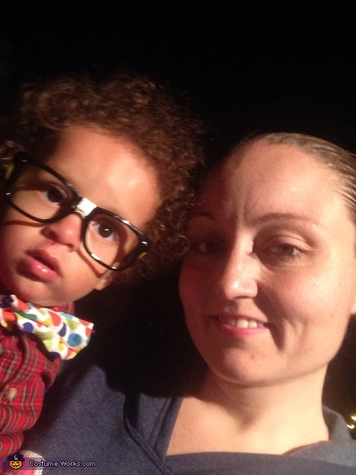 Mommy and nerd!! <3, Nerd Baby Costume